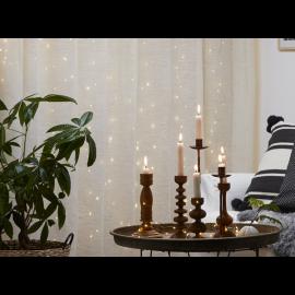 Vecka 42 Ljusslinga Dew Drop Ljusgardin Varmvit 100 ljus 100x100cm , hemmetshjarta.se