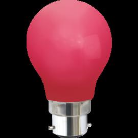 LED-lampa B22 Outdoor Lighting A55 Röd , hemmetshjarta.se