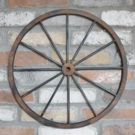 Väggdekoration Hjul Metall 47 cm , hemmetshjarta.se