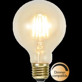 LED-lampa E27 Soft Glow G80 Dim , hemmetshjarta.se