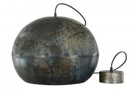 Lampa Metall Globe Onyx 36x45cm , hemmetshjarta.se