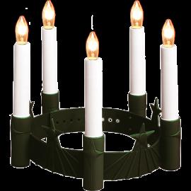 Santa Lucia Luciakrona Grön , hemmetshjarta.se