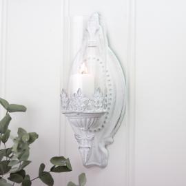 Ljushållare till vägg - antikvit , hemmetshjarta.se