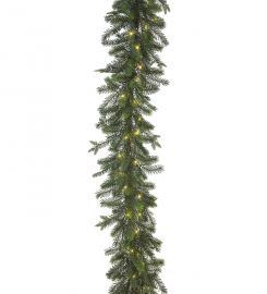 Konstgjord Girlang Gran med ljus 180 cm , hemmetshjarta.se
