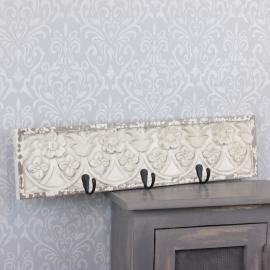 Väggkrok med dekoration 51 cm , hemmetshjarta.se