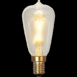 LED-lampa E14 Soft Glow ST38 , hemmetshjarta.se