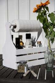 Trälåda för hushållspapper 18x45x30cm , hemmetshjarta.se