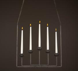 Ljusstake/hängande Grå 23x7x150cm , hemmetshjarta.se