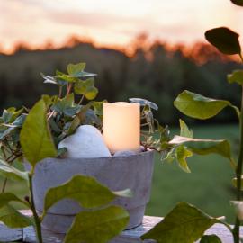 LED Gravljus Flame candle , hemmetshjarta.se