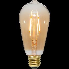 LED-lampa E27 Plain Amber ST64 , hemmetshjarta.se