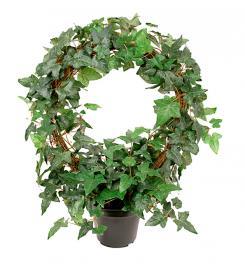 Konstgjord Murgröna planta på båge 45 cm , hemmetshjarta.se