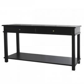 Avlastningsbord 158 cm - svart , hemmetshjarta.se