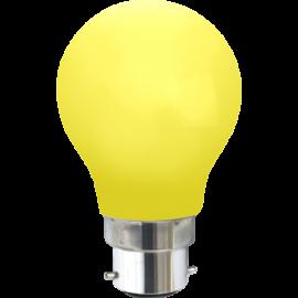 LED-lampa B22 Outdoor Lighting A55 Gul , hemmetshjarta.se