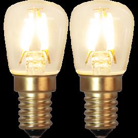 LED-lampa E14 Soft Glow 2-pack , hemmetshjarta.se