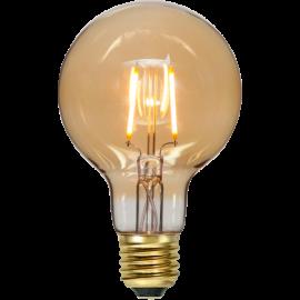 LED-lampa E27 Plain Amber G80 , hemmetshjarta.se