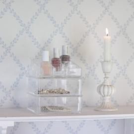 .Smink Förvaring Plexiglas 3 i 1 , hemmetshjarta.se