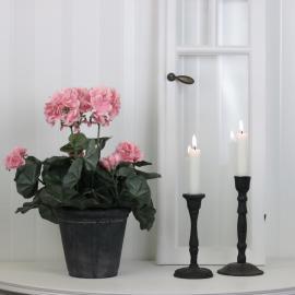 Konstgjord Pelargon 35 cm Rosa , hemmetshjarta.se