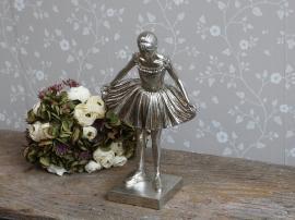 Toulon Ballerina H39 / L23 / B13 cm antik silver , hemmetshjarta.se