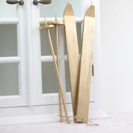 Skidset med naturband 40 cm , hemmetshjarta.se