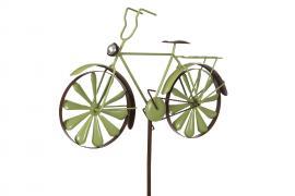 Trädgårdsstick Cykel Metall Grön 50x35/130cm , hemmetshjarta.se