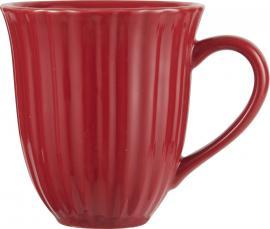 Mynte Strawberry kopp med spår , hemmetshjarta.se