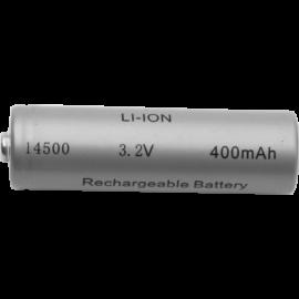 Laddbart batteri 14500 3,2V 400 mAh Li-Ion , hemmetshjarta.se