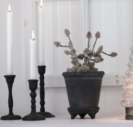 Konstgjord Kvist med kottar 28 cm , hemmetshjarta.se