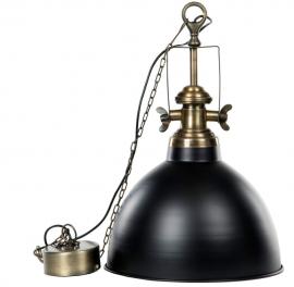 Lampa/Baron Svart mässing , hemmetshjarta.se