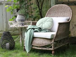 Vecka 17 Fransk stol i korg H100 / L110 / W76 cm natur , hemmetshjarta.se