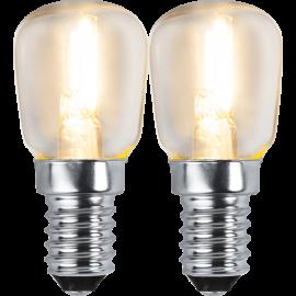 LED-Lampa E14 Ø26 lm100/11w Clear 2-pack , hemmetshjarta.se