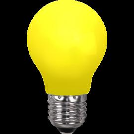 LED-lampa E27 Outdoor Lighting A55 Gul , hemmetshjarta.se