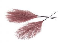 Syntetisk Fjäder/Tråd Rosa 17cm 12st , hemmetshjarta.se