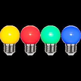 LED-lampa E27 Outdoor Lighting G45 4-pack , hemmetshjarta.se