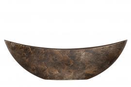 Hårdplast Rost Kruka/Gondol 55x12x17cm , hemmetshjarta.se