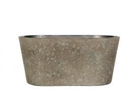 Hårdplast Mud Kruka/Ovali 24x10x11cm , hemmetshjarta.se
