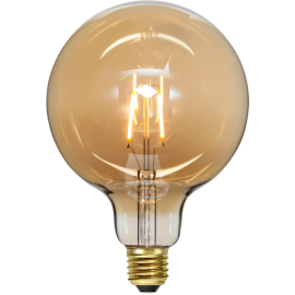 LED-lampa E27 Plain Amber G125 , hemmetshjarta.se