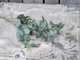 Konstgjord Gren med löv L82 cm grön , hemmetshjarta.se