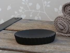 Diamant Tvålskål H2.5 / L13 / W9.5 cm svart , hemmetshjarta.se