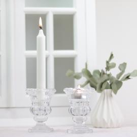 Ljusstake Pokal - glas , hemmetshjarta.se
