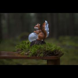 Solcellsdekoration Squirrel , hemmetshjarta.se
