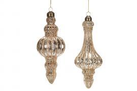 Vecka 37 Glasspira Aladdin Koppar Mix 6,5x16cm 4-pack , hemmetshjarta.se