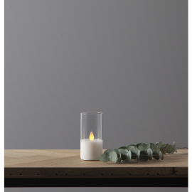 LED Blockljus M-Twinkle Transparent 5x10 , hemmetshjarta.se