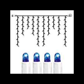 Utomhusdekoration System LED EL Istappsslinga Extra Blå 100 ljus 200x100cm , hemmetshjarta.se