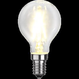 LED-Lampa E14 Ø45 lm250/25w Clear , hemmetshjarta.se