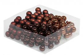 Glaskula.Bas Choklad Mix 2cm 144st , hemmetshjarta.se