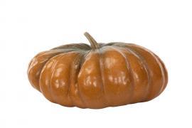 Vecka 35 Pumpa Orange.Nat Poly 34,5x18cm , hemmetshjarta.se