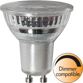 LED-Lampa GU10 MR16 Spotlight Glass Dim , hemmetshjarta.se