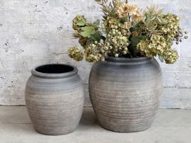 Vecka 40 Vas för deco H31 / Ø30 cm kol , hemmetshjarta.se