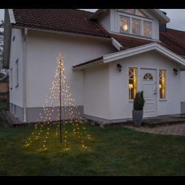 Utomhusdekoration Gran med stjärna 235 cm , hemmetshjarta.se