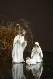 Vecka 34 Josef, Maria & Jesus Poly 7,5x6x19,5cm 3-pack , hemmetshjarta.se